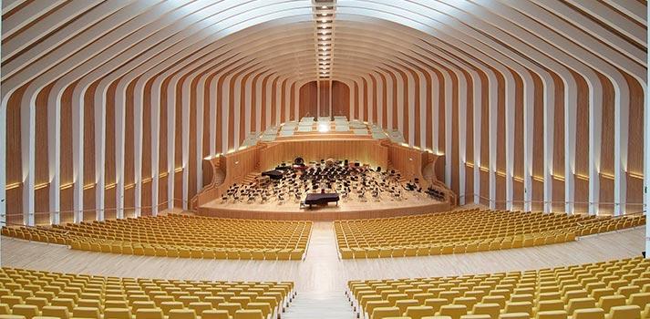 Sala de cámara del Palau de les Arts (Valencia) - Especial Teatros y Auditorios