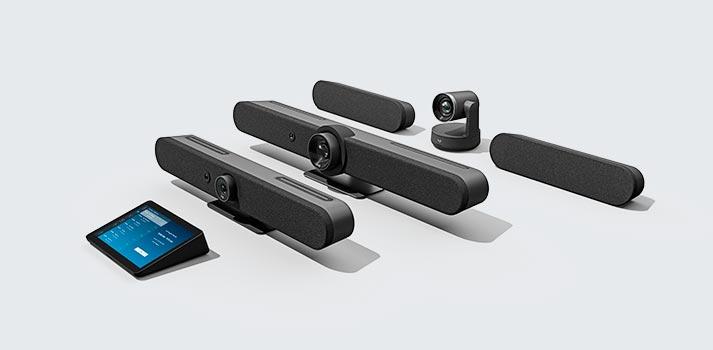 Familia de productos de videoconferencias de Logitech - Lanzamientos 2021