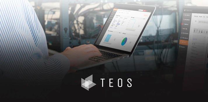 Imagen corporativa que presenta un técnico gestionando el sistema TEOS de Sony