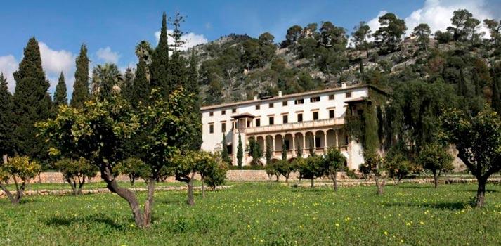 Una de las fincas ubicadas en Raixa (Mallorca)