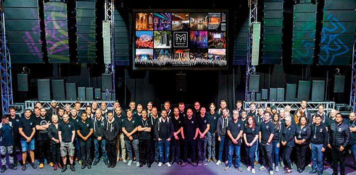 Martin Audio celebra sus 50 años