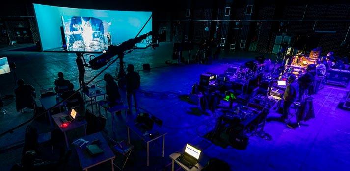 Producción virtualizada en la Convención de Santalucía 2021, producida por Acciona Ingeniería Cultural