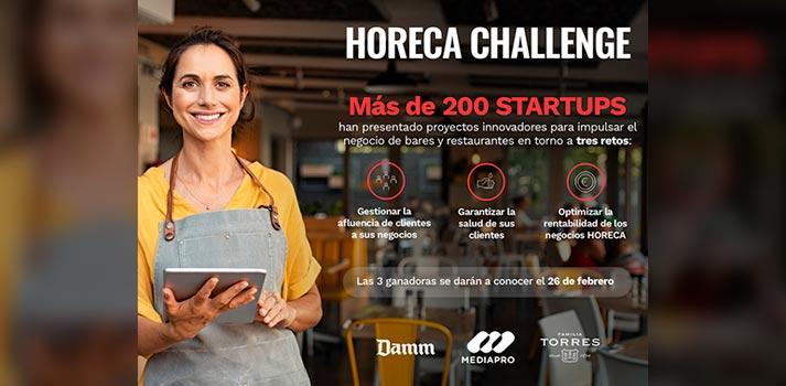 Candidaturas Horeca Challenge del Grupo Mediapro, Damm y Familia Torres