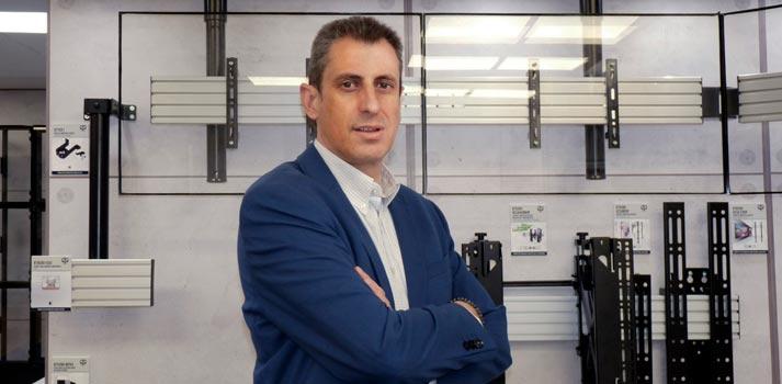 Nacho Olive - Nombramiento 2021 - Frente a productos B-Tech AV Mounts