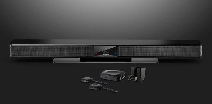Videobar VB1 de Bose - Ahora compatible con ClickShare Conference