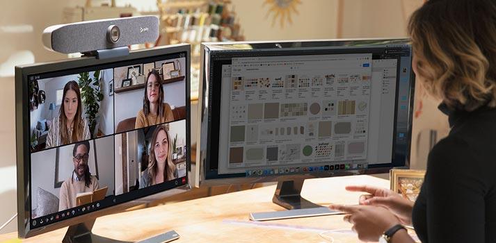 Sistema de videoconferencia Studio P15 de Poly
