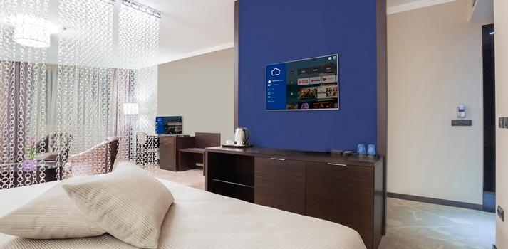 Televisores MediaSuite Philips - Entorno Hospitality