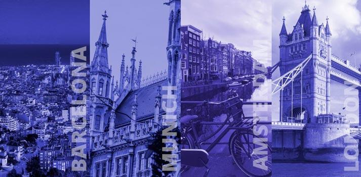 Ciudades por las que pasará ISE en 2021