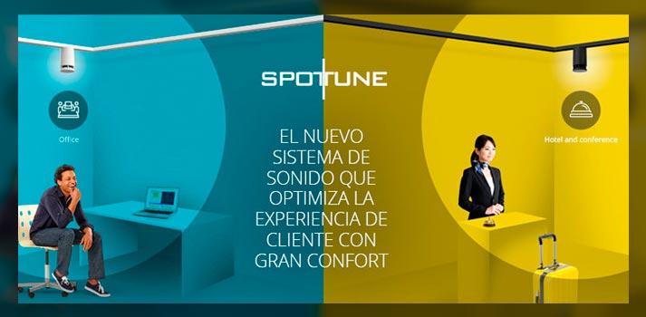 Aplicaciones del sistema Spottune distribuido por Magnetron