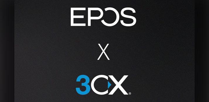 Logos de EPOS y 3CX