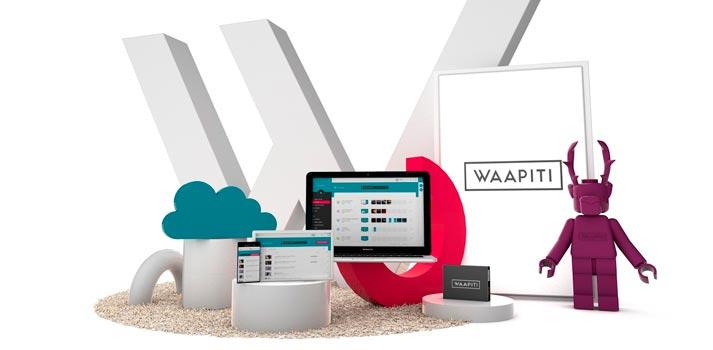 Imagen promocional de la solución Waapiti
