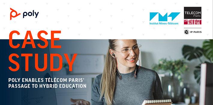 La Escuela Telécom de París potencia su aprendizaje a distancia con Poly