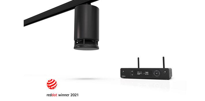 El altavoz Spottune Omni galardonado con el premio Red Dot a mejor diseño