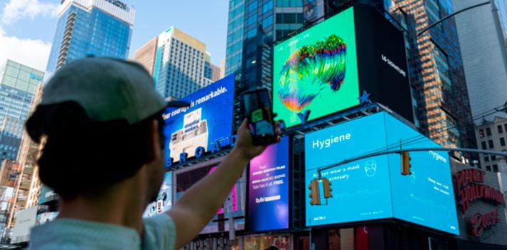 LG lleva el 3D a Picadilly Circus y Times Square