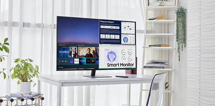 Samsung amplía su gama Smart Monitor a las 43 y 24 pulgadas