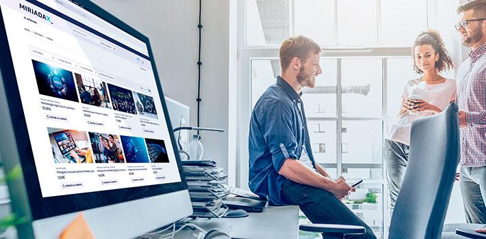 Telefónica impulsa la formación para empresas en su plataforma Miríadax