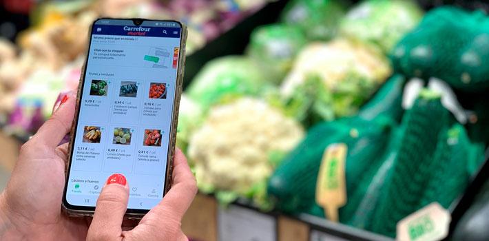 Carrefour y Lola Market ofrecen juntos servicios de personal shopper online