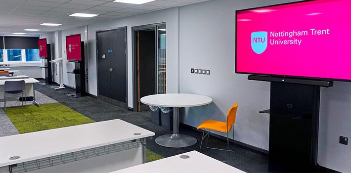 La Nottingham Trent University adapta sus aulas con los sistemas sobre IP de Extron