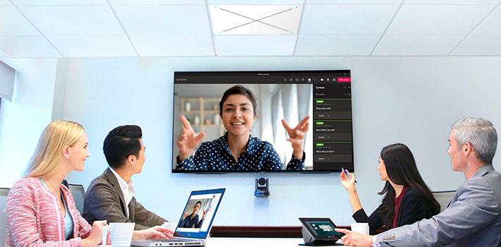 Sennheiser y QSC lanzan un webinar sobre videoconferencias